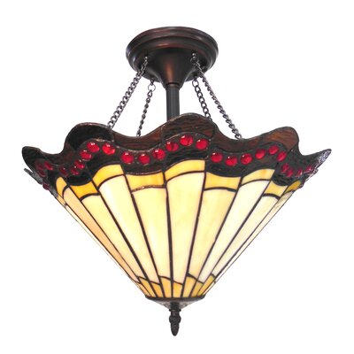 Hyacinthe 2-Light Semi Flush Mount
