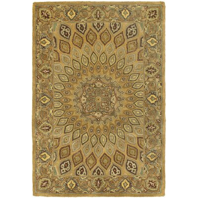 Gideon Light Brown/Grey Area Rug Rug Size: 5 x 8