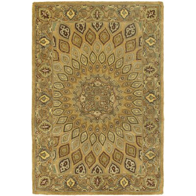 Gideon Light Brown/Grey Area Rug Rug Size: 4 x 6