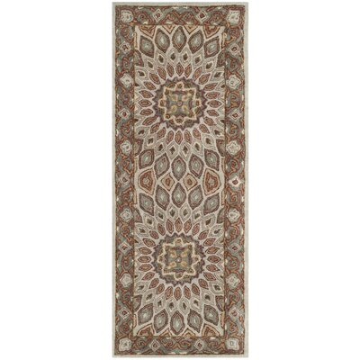 Gideon Blue/Grey Area Rug Rug Size: Runner 23 x 14