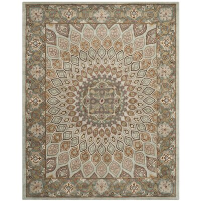Gideon Blue/Grey Area Rug Rug Size: Runner 23 x 8
