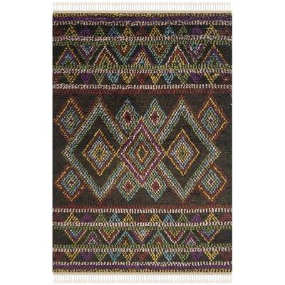 Glenoe Multi Geometric Rug Rug Size: 6 x 9