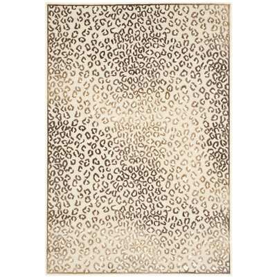 Ileana Creme Rug Rug Size: 53 x 76