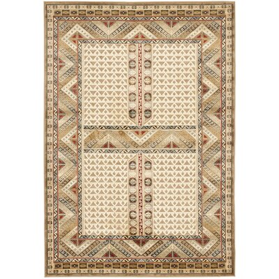 Linden Ivory Area Rug Rug Size: Rectangle 53 x 76