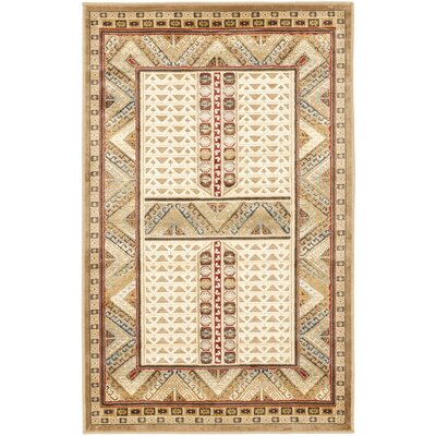 Linden Ivory Area Rug Rug Size: Rectangle 27 x 4