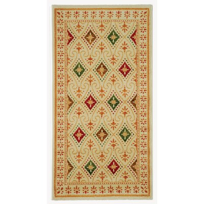 Iliana Yellow Area Rug Rug Size: Rectangle 4 x 57