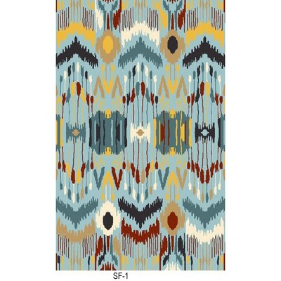 Ile des Pins Hand Woven Rug Rug Size: Rectangle 6 x 9