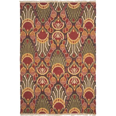 Ile des Pins Ikat Rug Rug Size: Rectangle 4 x 6