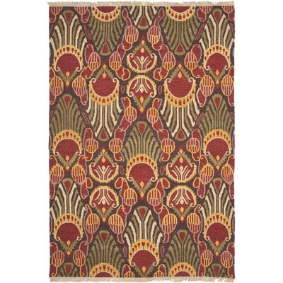 Ile des Pins Ikat Rug Rug Size: Rectangle 9 x 12