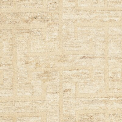 Massira Ivory/Beige Area Rug Rug Size: Square 16