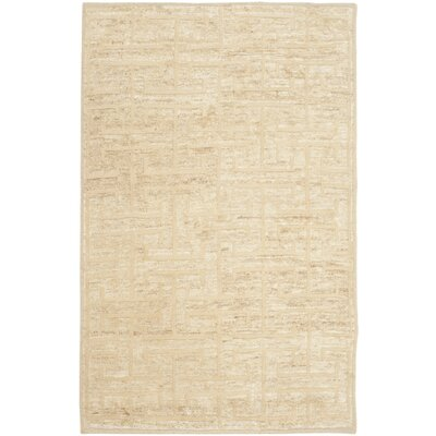 Elise Ivory/Beige Area Rug Rug Size: Rectangle 6 x 9