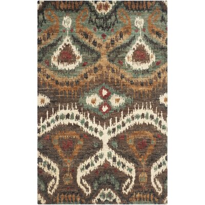Massira White Area Rug Rug Size: Rectangle 8 x 10