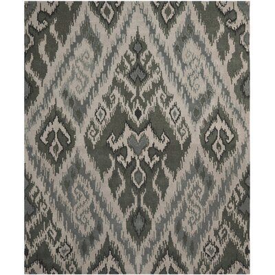 Camden Grey / Green Area Rug Rug Size: Rectangle 8 x 10