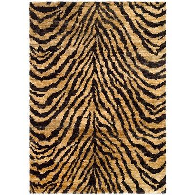 Parisi Natural/Black Area Rug Rug Size: 8 x 10