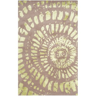 Camden Plum & Mist Area Rug Rug Size: Rectangle 4 x 6