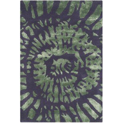 Camden Lavender/Sage Area Rug Rug Size: 5 x 8