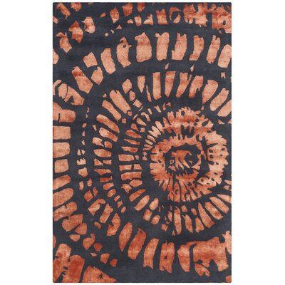 Camden Steel/Blue Area Rug Rug Size: Rectangle 2 x 3