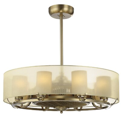 Trent 8-Light Air Ionizing dLier Ceiling Fan