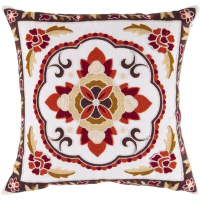 Aubree Throw Pillow Cover Size: 18 H x 18 W x 0.25 D