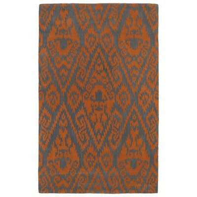 Rodeo Orange Area Rug Rug Size: 2 x 3