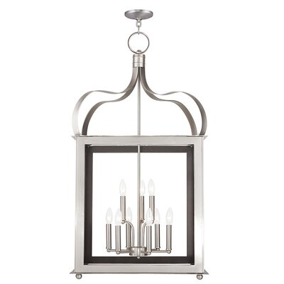 Robertson 9-Light Foyer Pendant Finish: Brushed Nickel