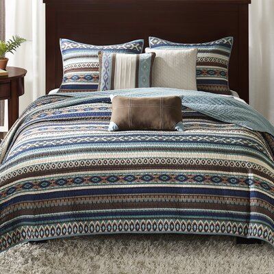 Florence 6 Piece Quilted Coverlet Set Size: Full/Queen