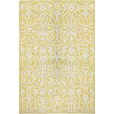 Tenley Gold Rug Rug Size: 5 x 76