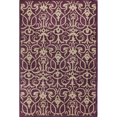 Tenley Lilac Area Rug Rug Size: 76 x 96