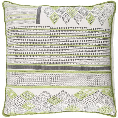 Aurelio Throw Pillow Size: 18 H x 18 W x 4 D, Fill Material: Down