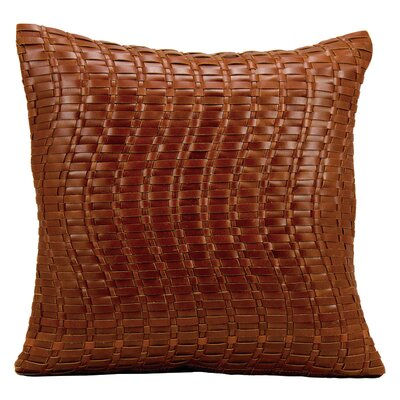 Essyara Wavy Basket Weave Throw Pillow