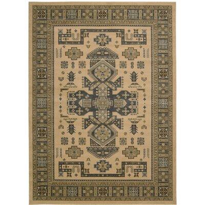 Quoizel Camel Area Rug Rug Size: Rectangle 53 x 74