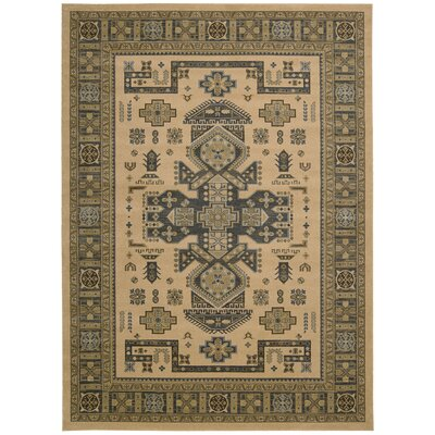 Quoizel Camel Area Rug Rug Size: Rectangle 93 x 129