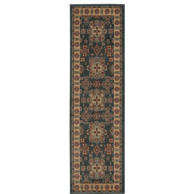 Garney Gray/Gold Area Rug Rug Size: Runner 22 x 76