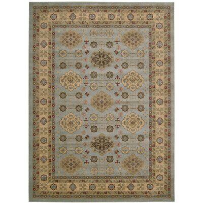 Garney Beige Area Rug Rug Size: Rectangle 93 x 129