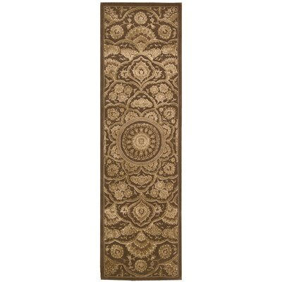 Gladsaxe Hand-Woven Chocolate Area Rug Rug Size: Runner 23 x 8