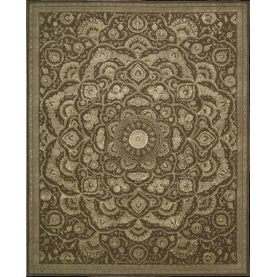Gladsaxe Hand-Woven Chocolate Area Rug Rug Size: 39 x 59