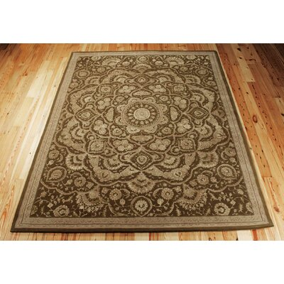Riggs Hand-Woven Chocolate Area Rug Rug Size: Rectangle 39 x 59