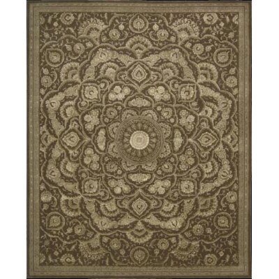 Riggs Hand-Woven Chocolate Area Rug Rug Size: 86 x 116