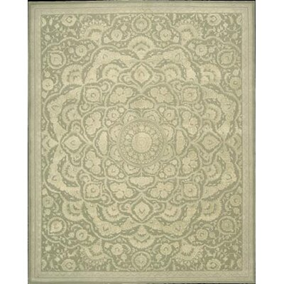 Gladsaxe Hand-Tufted Green Area Rug Rug Size: 56 x 86