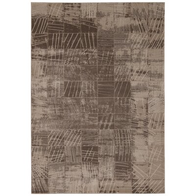 Klingle Mocha Rug Rug Size: Rectangle 93 x 129