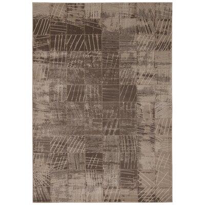 Klingle Mocha Rug Rug Size: 710 x 106