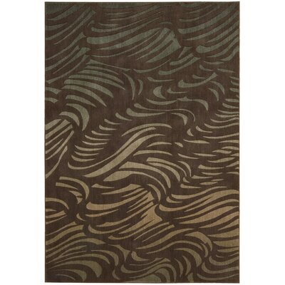 Robles Brown Rug Rug Size: 36 x 56