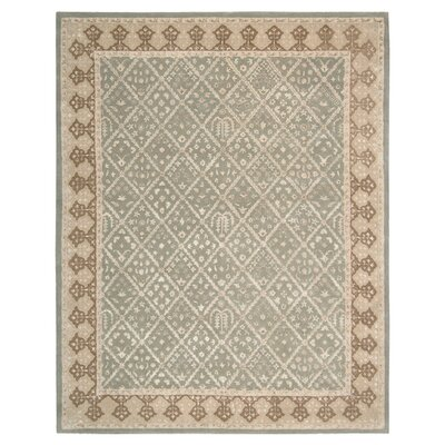 Koutio Light Grey Rug Rug Size: 8 x 11