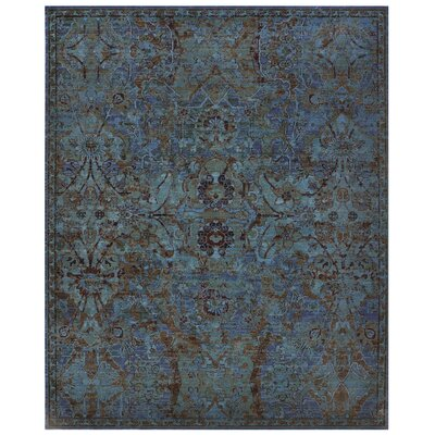 Pilou Peacock Area Rug Rug Size: Rectangle 79 x 99