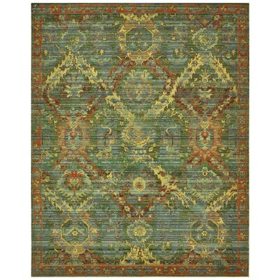 Pilou Wool Seaglass Area Rug Rug Size: Rectangle 56 x 8