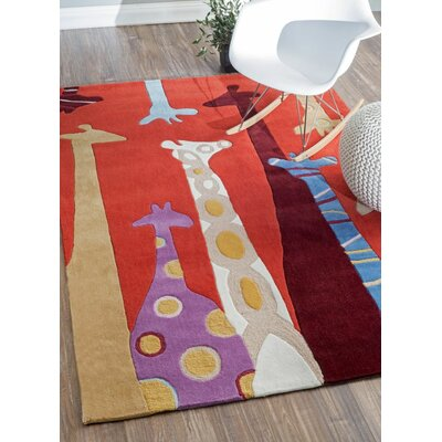 Winslow Novelty Area Rug Rug Size: 5 x 7