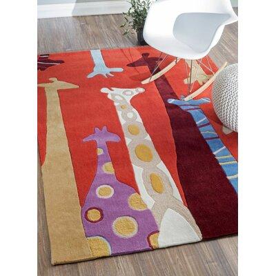 Lahsana Novelty Area Rug Rug Size: 76 x 96