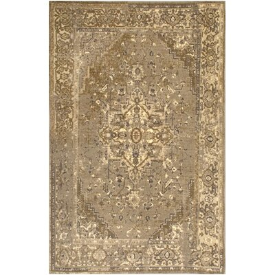 Loch Hand-Woven Beige Area Rug Rug Size: Rectangle 8 x 10