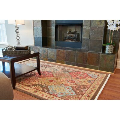 Jeannie Tan Area Rug Rug Size: 5 x 8