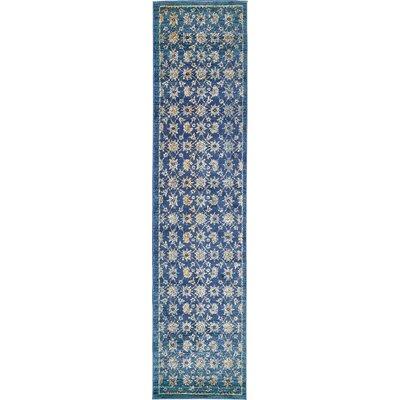 Geleen Blue Area Rug Rug Size: Runner 3 x 13